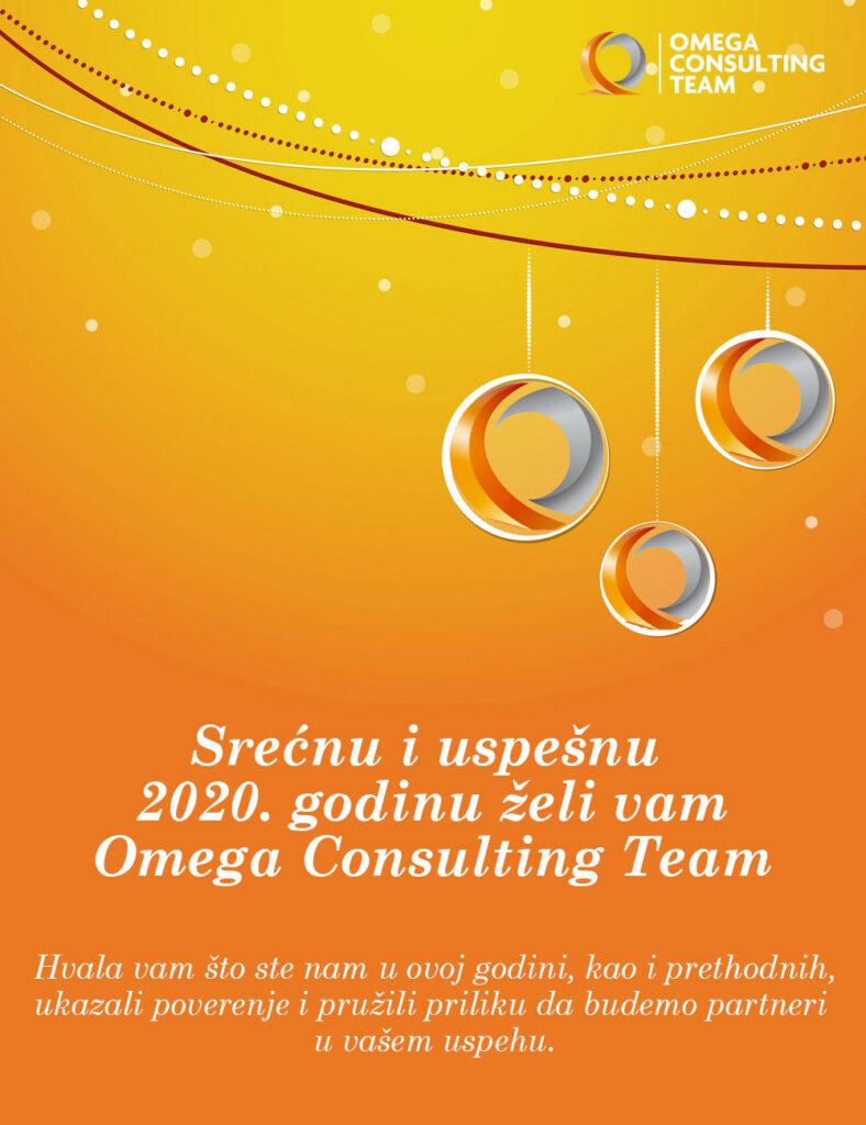 Omega Consulting Team vam želi srećnu i uspešnu 2020. godinu