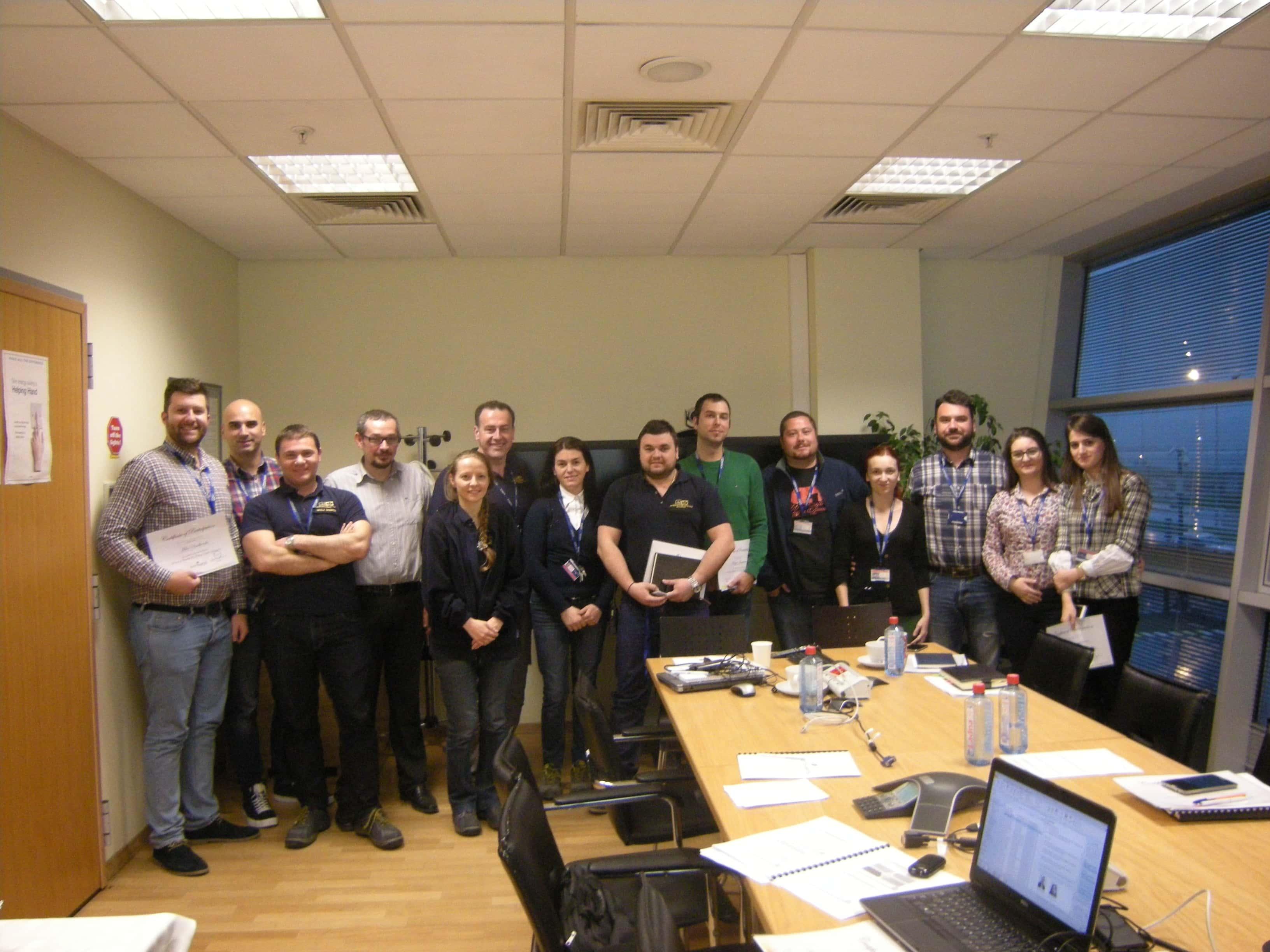 """Uspešno održan trening """"Optimizacija obrtnog kapitala""""  za kompaniju Johnson Matthey iz Skoplja"""